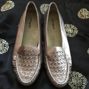 Silver loafers to go with any outfit
